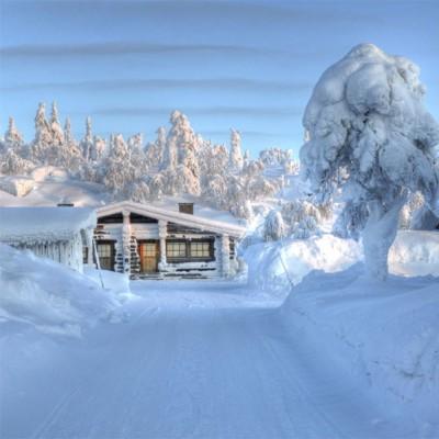 wintery weekend